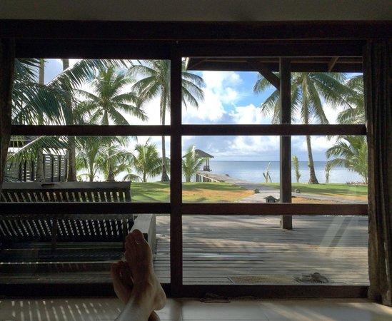 Siargao Paraiso Resort: morning view