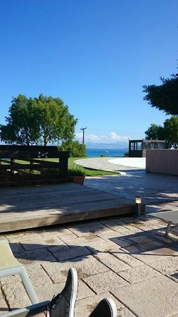 Atlantica Mikri Poli Kos: View from sun bed by pool