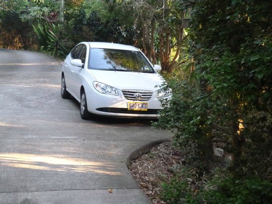 Treetops Montville: Car bay