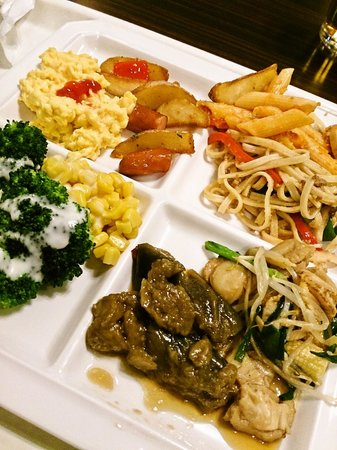 Hotel Wing International Shin-Osaka: 朝食会場「ゆめぜん」の朝食