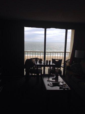 Beach Quarters Resort : Living area