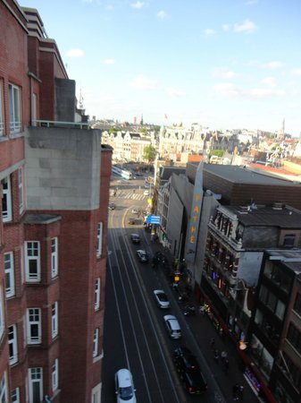 NH Carlton Amsterdam: Great view from balcony