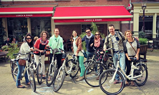 We Bike Amsterdam Tours: Bike Tour with Thijs, April 2014