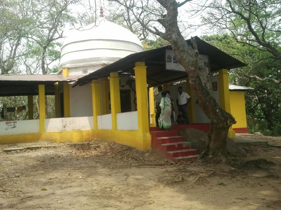 Rudrapada Temple: entrance of temple