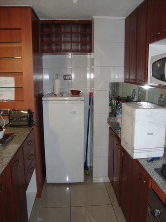MG Apartments Providencia : Cozinha