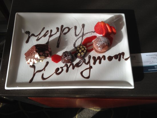 Four Points by Sheraton Perth: nice touch from the hotel