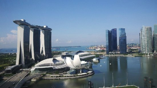The Ritz-Carlton, Millenia Singapore : View from room # 2120