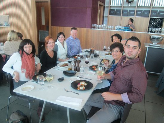 Vinetrekker Wine and Food Tours: Lunch at the Yering Station