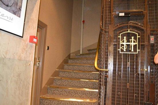 Hotel Saint Pierre : Stairs