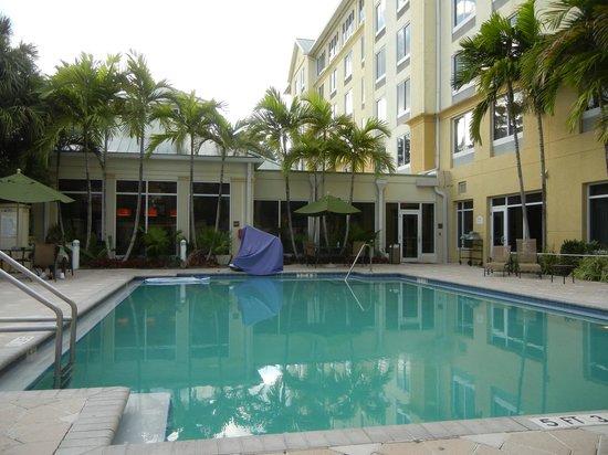 Hilton Garden Inn Ft. Lauderdale Airport-Cruise Port : Pool