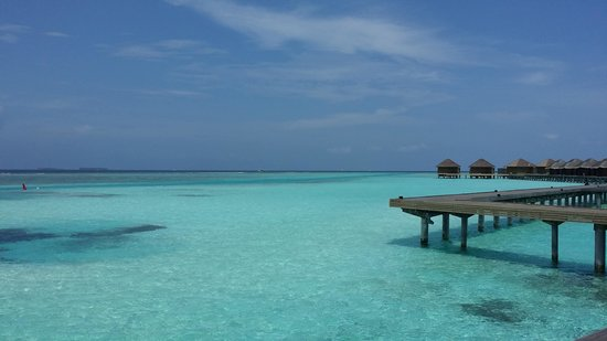 Anantara Veli Maldives Resort: view from the villa