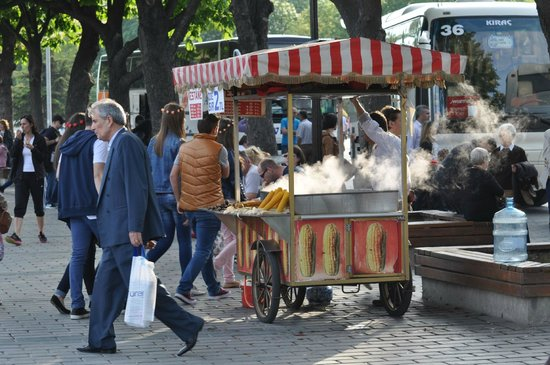 Historic Areas of Istanbul : Caferiye Sok