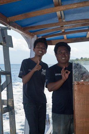 Two Fish Divers Bunaken : Helpful staff