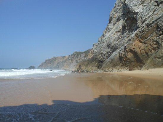 Adraga Beach: L'intera spiaggia