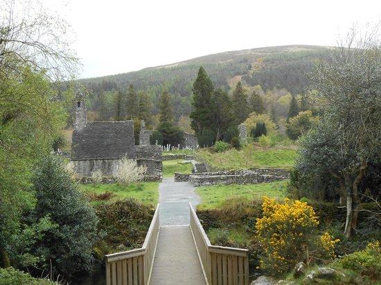 The Wicklow Way: Vuelta al monasterio