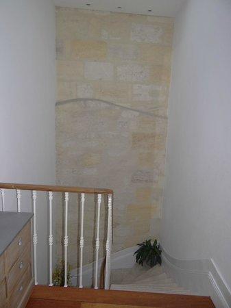La Halte Montaigne : Le scale..