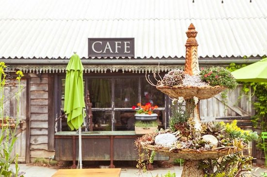 Terrain Garden Cafe: Outdoor Ambiance and Seating Area