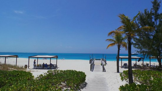 Club Med Turkoise, Turks & Caicos : Going to the beah