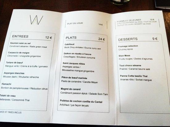 Figues picture of will paris tripadvisor for Restaurant le jardin neufchatel menus