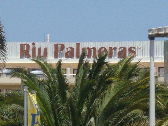 Hotel Riu Palmeras / Bung Riu Palmitos: Hotelgelände