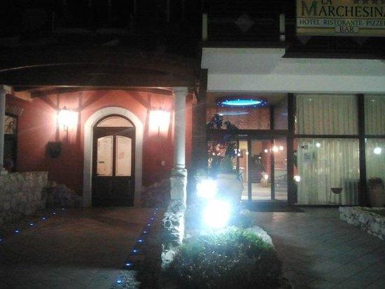 Hotel La Marchesina: Entrata