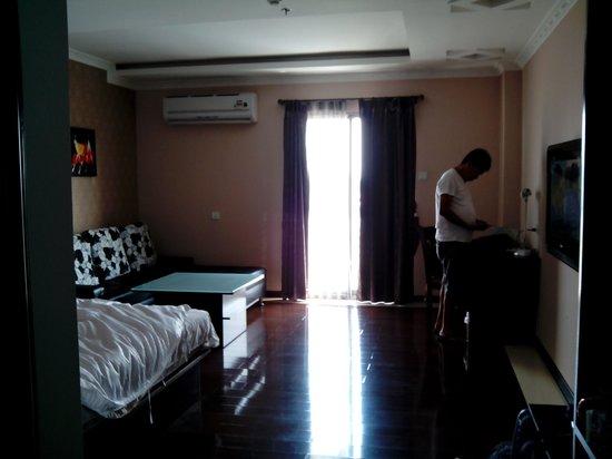 Grand Hoyah Hotel: veranda
