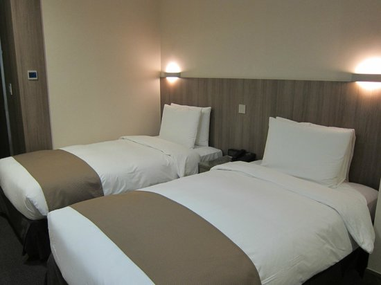 CenterMark Hotel: twin room