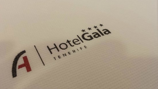 Hotel Gala: At the restaurant.