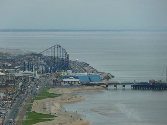 Tour et Cirque de Blackpool (Blackpool Tower and Circus) : Views from the top of the Blackpool Tower