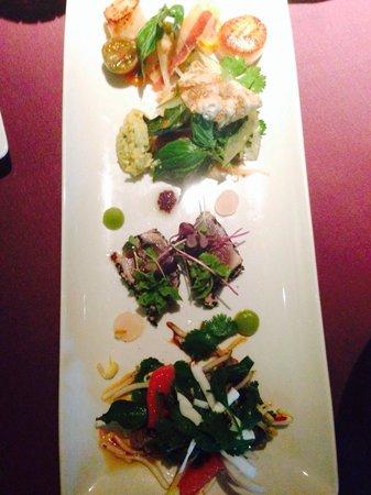 Tamarind: Entree tasting platter