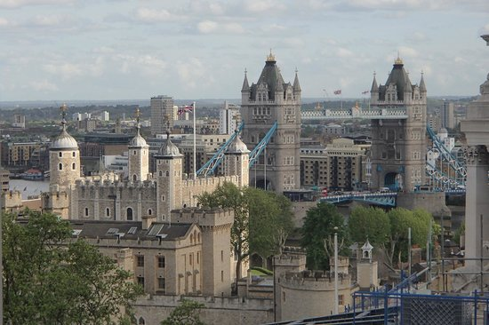DoubleTree by Hilton Hotel London -Tower of London : view from top