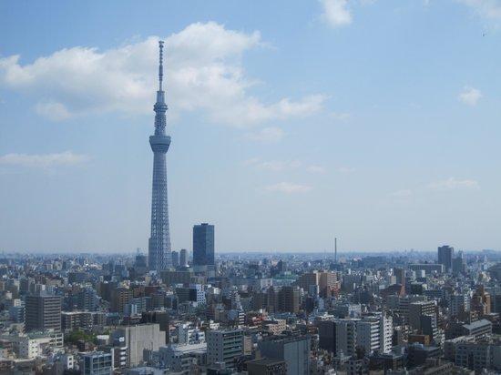 Dai-ichi Hotel Ryogoku: Sky Tree は、私の良い部屋で見られることができました。