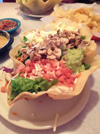 Chuy's: Fajita Chicken Salad