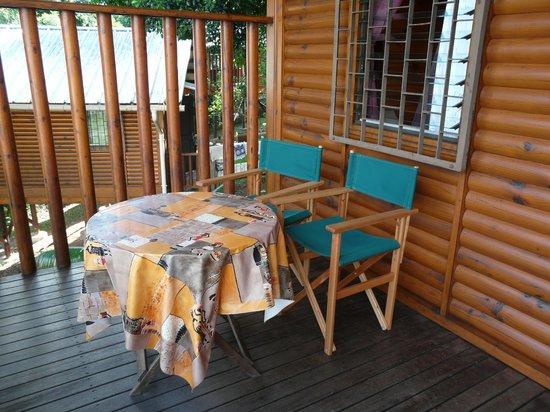 Les Bangas : La terrasse