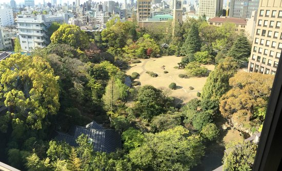 RIHGA Royal Hotel Tokyo: View from our junior suite