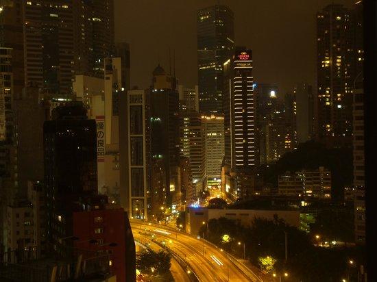 Dorsett Wanchai, Hong Kong: 銅鑼湾の夜景