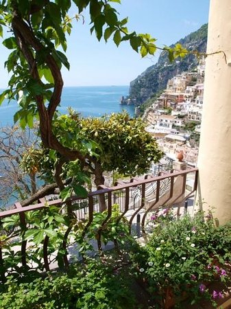 Hotel - Albergo California Positano: view from terrace
