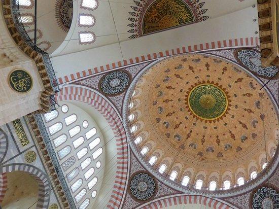 Süleymaniye-Moschee: Suleymaniye Mosque - Inside
