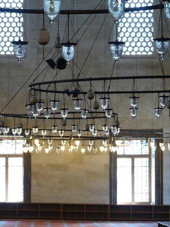 Süleymaniye-Moschee: Suleymaniye Mosque - Inside Lights