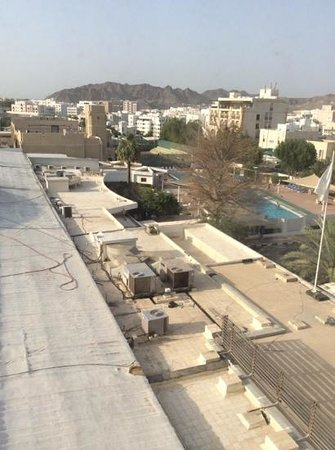 Al Falaj Hotel : view out of room