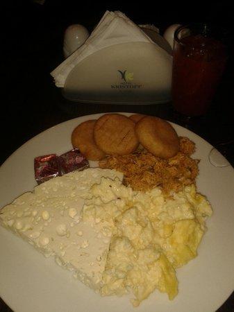 Hotel Kristoff: Desayuno