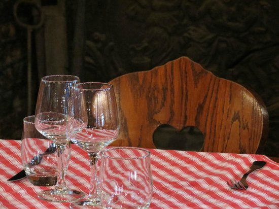 La Salamandre : Интерьер ресторана