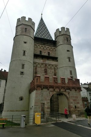 Spalentor (Stadttor): Spalentor Fassade