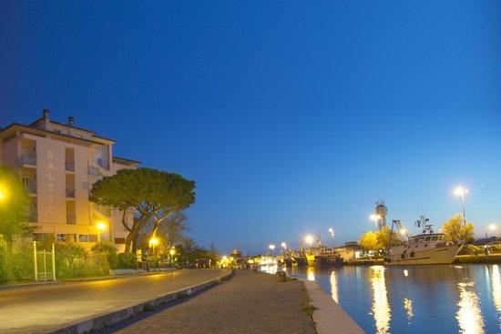 Hotel Baltic : Il Porto canale