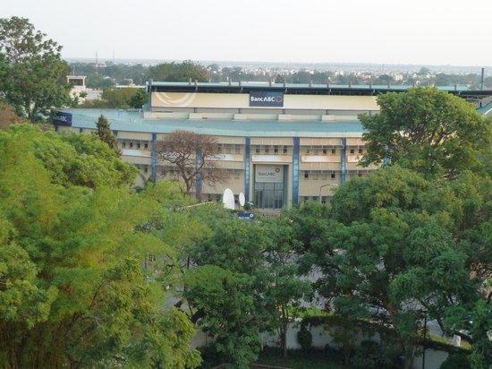 Taj Pamodzi Hotel : Central Lusaka view