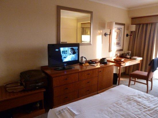 Taj Pamodzi Hotel : Reasonable TV