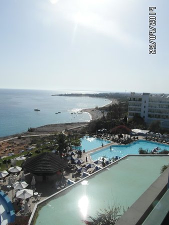 Atlantica Club Sungarden Hotel: view from the hotel room