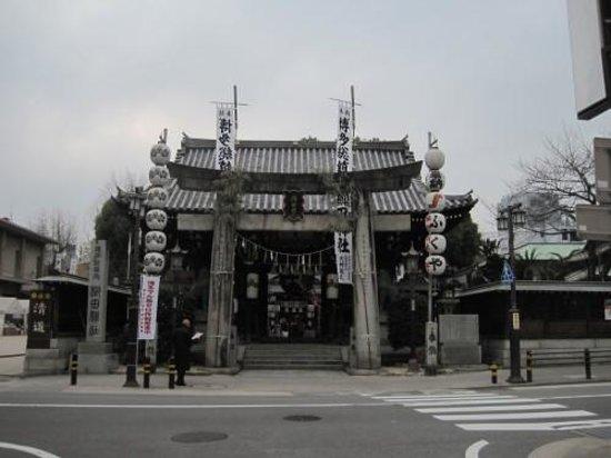 Kushida Shrine: 櫛田神社正面です