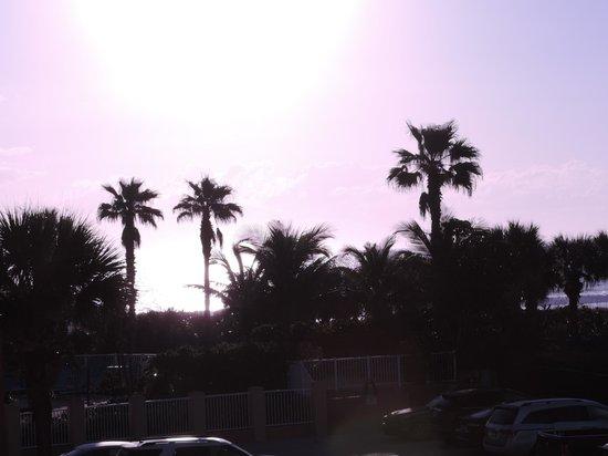 DoubleTree by Hilton Hotel Cocoa Beach Oceanfront: vue de la chambre