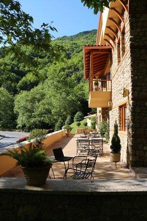 Roes Suites: η υπέροχη βεράντα